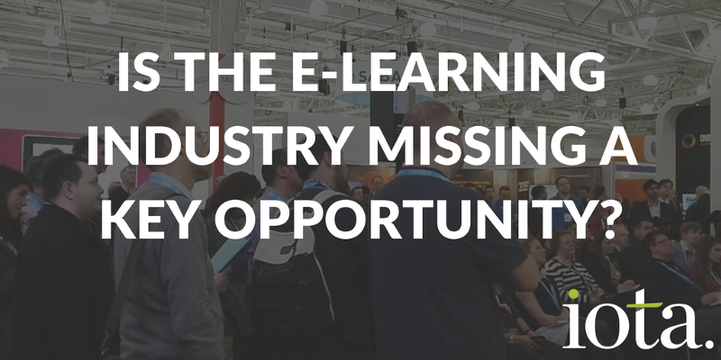 Where the e-learning industry fails to impress…