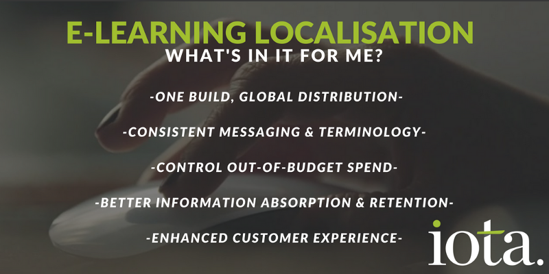 E-learning localisation—what's in it for me?